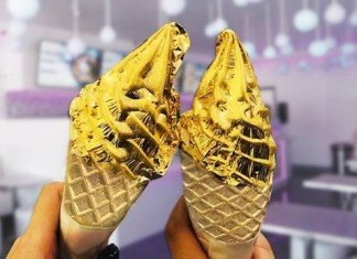 24 karat gold ice cream snowopolisco