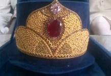 55 Gramme Gold Crown For Maryam Nawaz in Sheikhupura