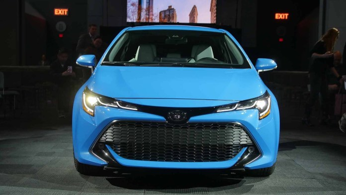 2019 Toyota Corolla Hatchback Is Capable Of Seeing Pedestrians And
