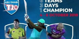 Abu Dhabi T20 2018