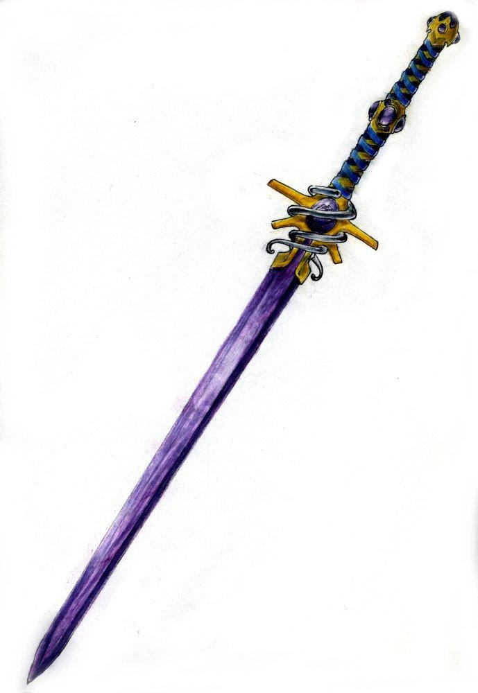 Espada Amatista (Objeto Unico)