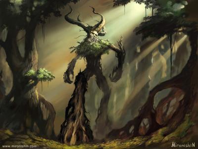 La Vision del Anciano Capitulo III: Bosque de los Ent.