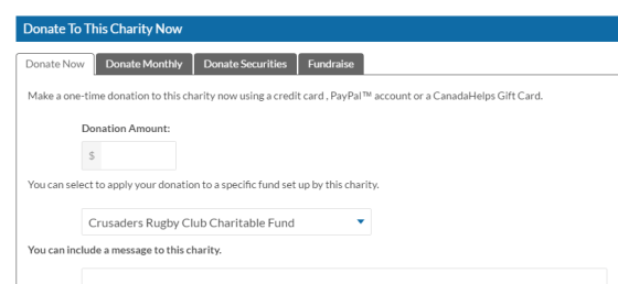 Donate to this Charity