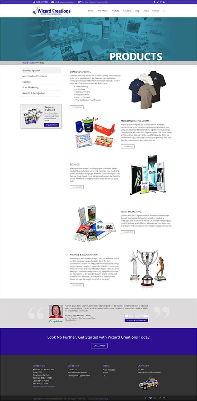 Wizard - Agency - Products