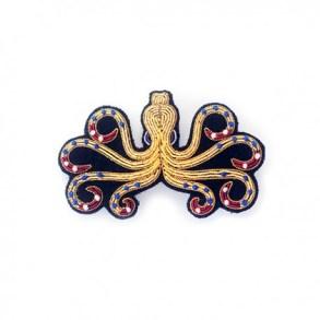 Broche pieuvre des créatrices de la marque Macon&Lesquoy