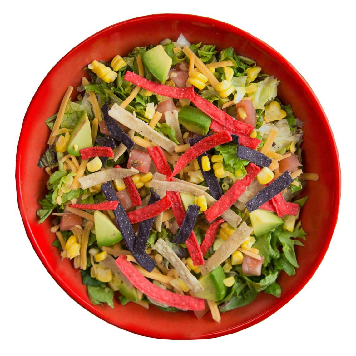 Crushed Red South Of The Border Urban Crafted Salad