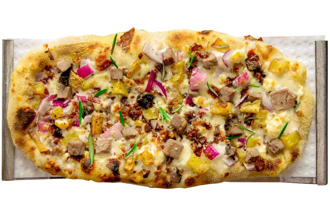 Crushed Red Yukon Steak Urban Crafted Pizza