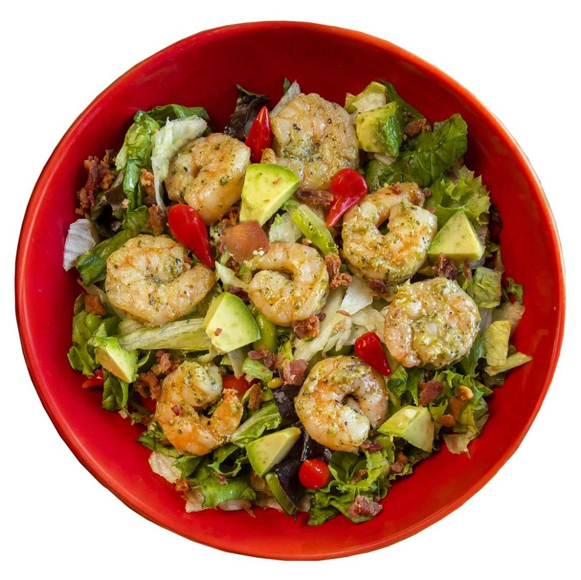 Pesto Shrimp Salad