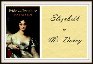Elizabeth and Mr Darcy couple