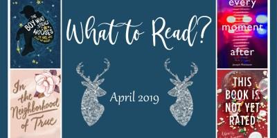 TBR April 2019