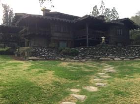 The Gamble House Backyard