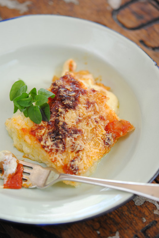 Four-Cheese Baked Pap   Crush Magazine