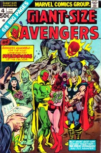 Vision and Scarlet Witch married in the pages of Giant-Size Avengers #4 (June 1975).