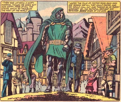 Dr. Doom: cuddly & lovable dictator?
