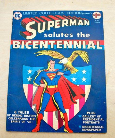 superman salutes the bicentennial