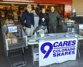 CRUUC Volunteers at Kings Soopers November, 2015