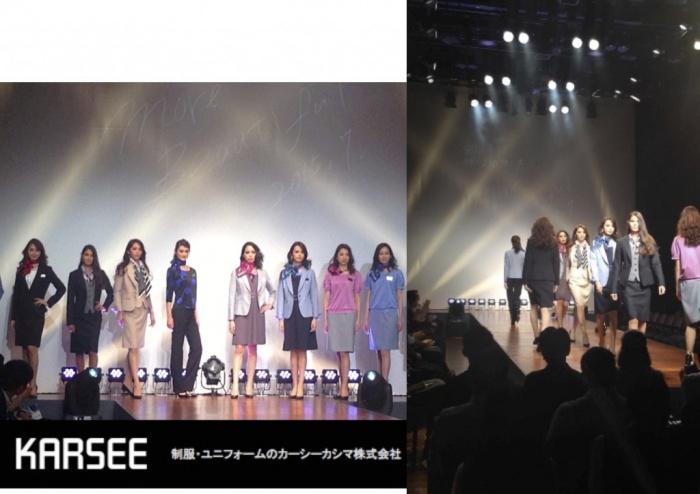 カーシーカシマ ファッションショー
