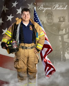 Bryan Pollock of Mahoning Valley Fire Company No 1 Photo by: Cruver Photography (www.cruverphotography.com)