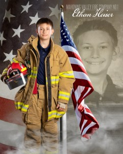 Ethan Heiser of Mahoning Valley Fire Company No 1 Photo by: Cruver Photography (www.cruverphotography.com)