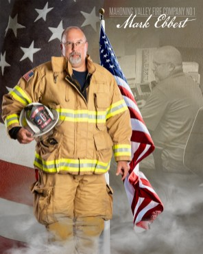 Mark Ebbert of Mahoning Valley Fire Company No 1 Photo by: Cruver Photography (www.cruverphotography.com)