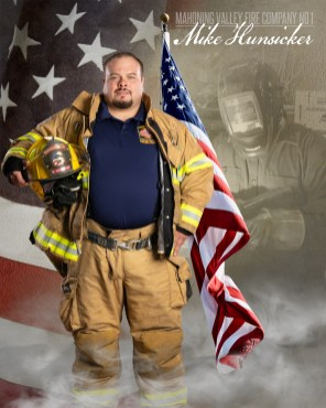 Mike Hunsicker of Mahoning Valley Fire Company No 1 Photo by: Cruver Photography (www.cruverphotography.com)