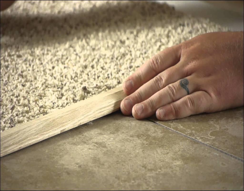 Carpet Tile Threshold Strip