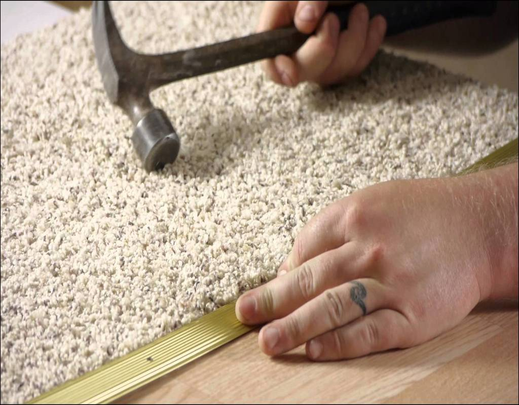 Joining Laminate Flooring To Carpet