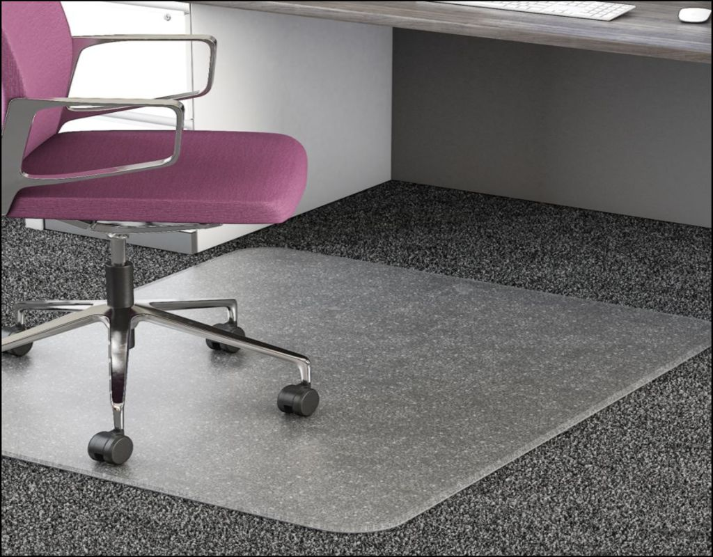 Office Chair Carpet Protector The Characteristics Of Plastic Carpet Protector For Office