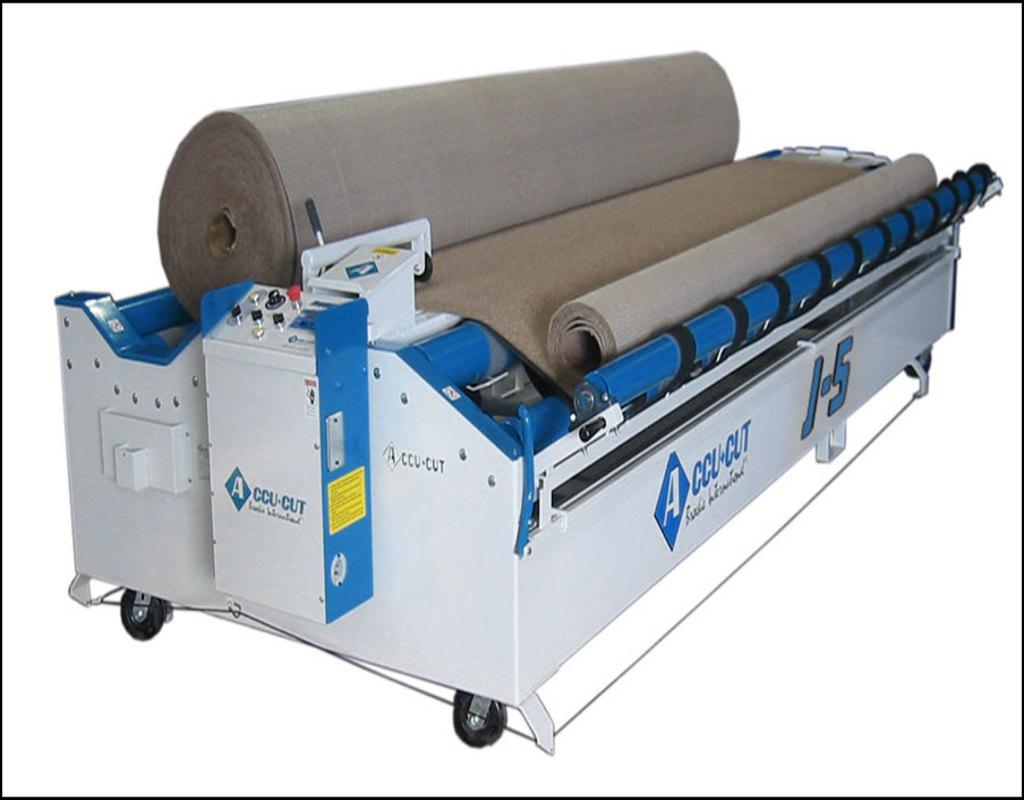 Accu Cut Carpet Machine