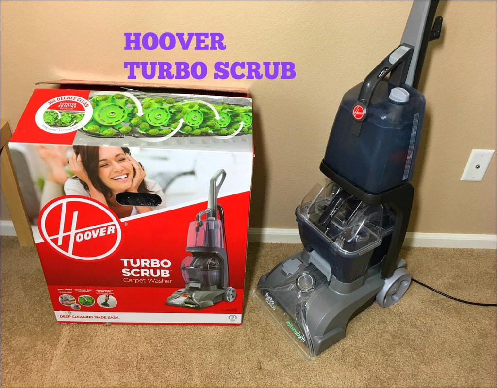 Hoover Turbo Scrub Carpet Washer