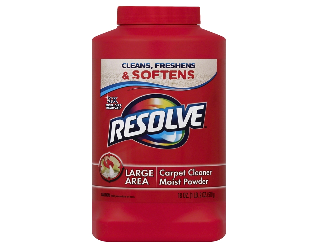 Resolve Carpet Cleaner Directions