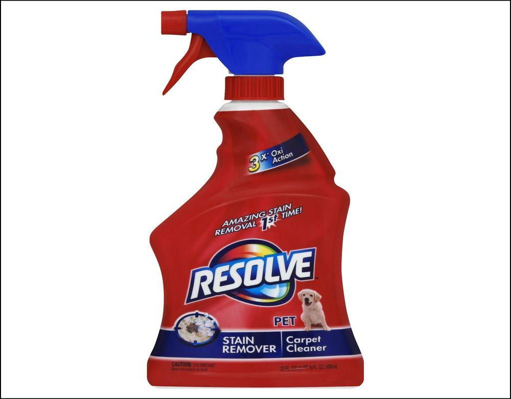 Resolve Carpet Cleaner Pet