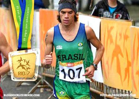 Franck do Cruzeiro é ouro noPan