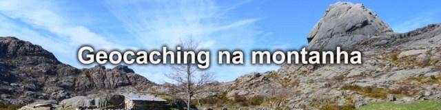 Geocaching na montanha