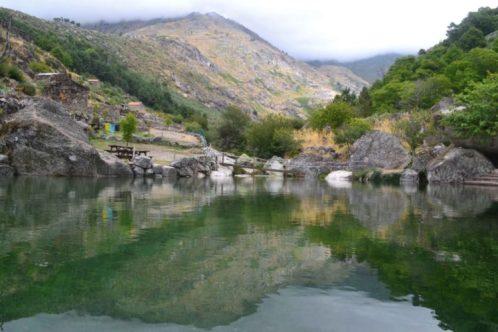 Praia fluvial de Loriga