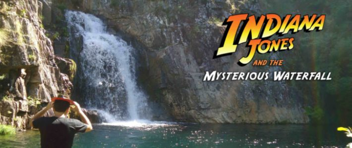 Indiana Jones and the Mysterious Waterfall