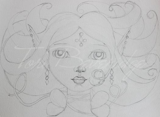 Day 2 Sketch by Tori Beveridge