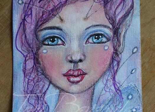 Photo of Mixed Media Strangeling Fairy by Tori Beveridge 2016