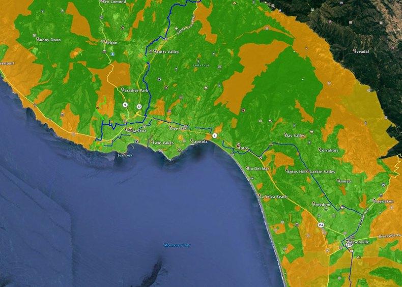 underserved areas in Santa Cruz