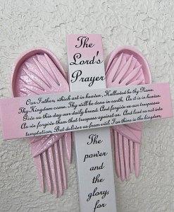 The Lord's Prayer Cross