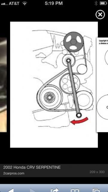 2008 Honda Crv Serpentine Belt Diagram : honda, serpentine, diagram, Serpentine, Replacement, Neither, Expensive, Difficult, Honda, Owners, Forums