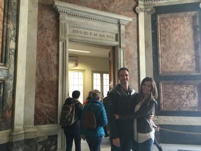Enterance to Sistine Chapel 2