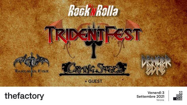 Trident Fest - The Factory Venerdì 03 Settembre 2021