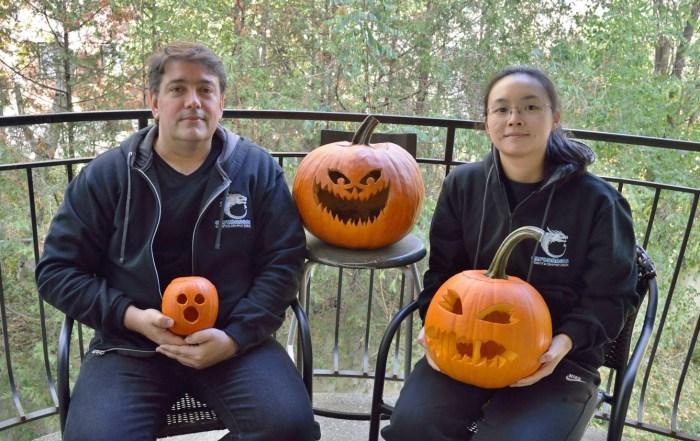 CryoDragon Kitchener Waterloo Halloween Pumpkin 2016