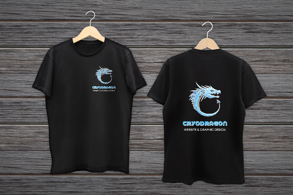 CryoDragon Print Design (Waterloo Kitchener Cambridge) CryoDragon T-Shirts