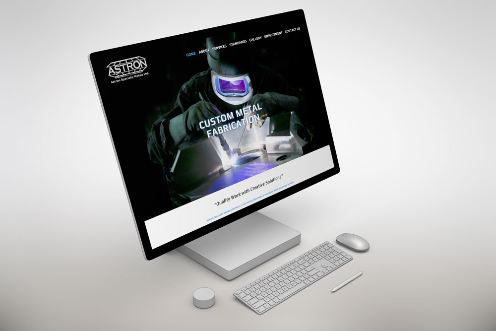 CryoDragon (Kitchener Waterloo Cambridge Website Design) Astron Specialty Metals