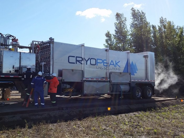 LNG for Utility Pipeline - Cryopeak
