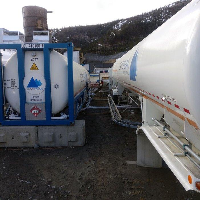 LNG Equipment - Cryopeak - rent or buy storage tanks