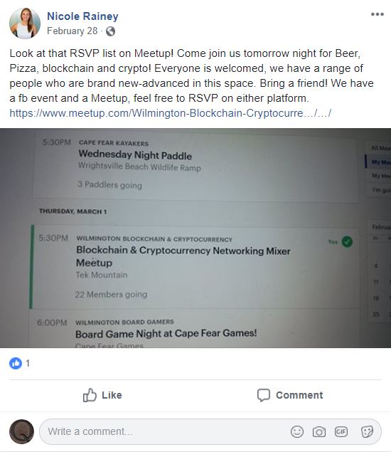 Nicole FB page