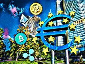 Европейската централна банка обмисля Биткойн, Рипъл, Етериум и Биткойн Кеш